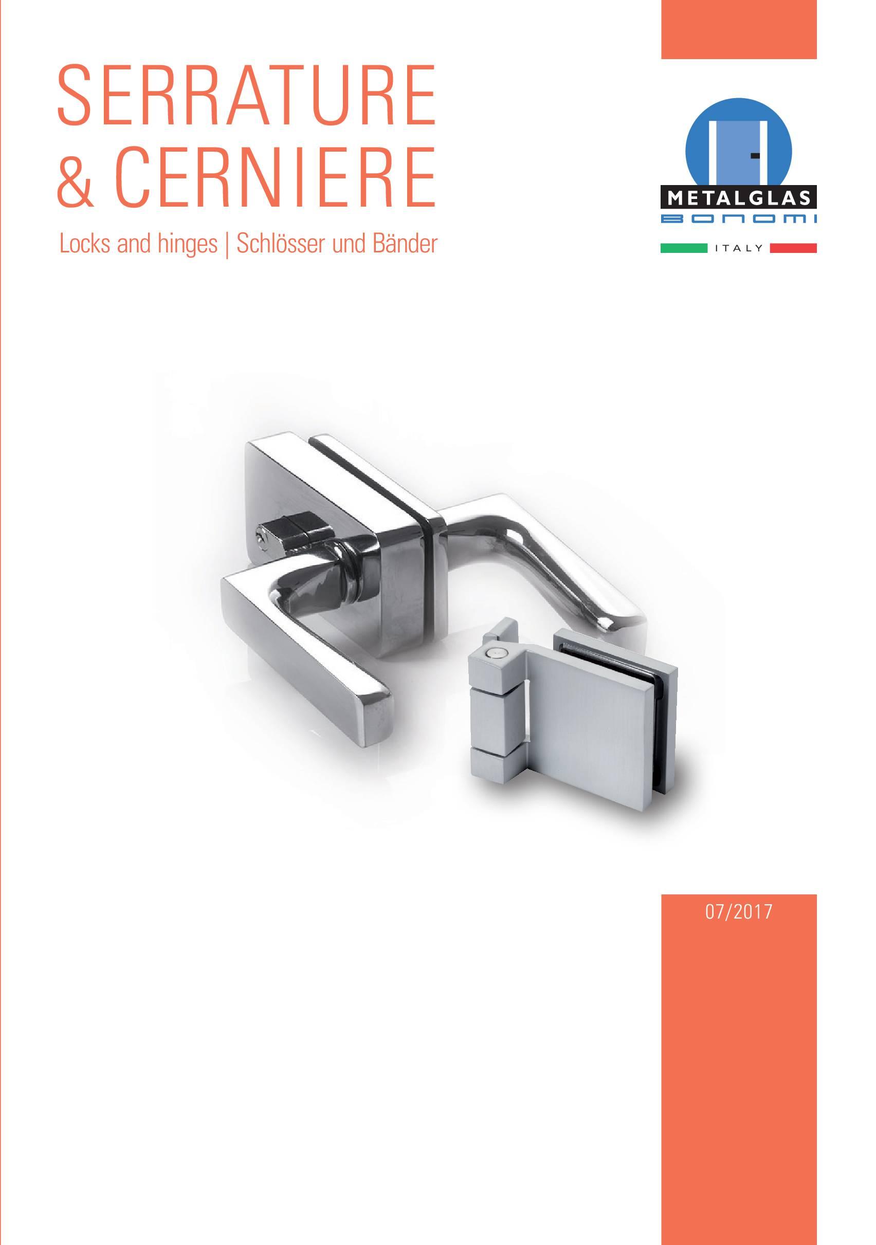 Metalglas – Serrature e Cerniere
