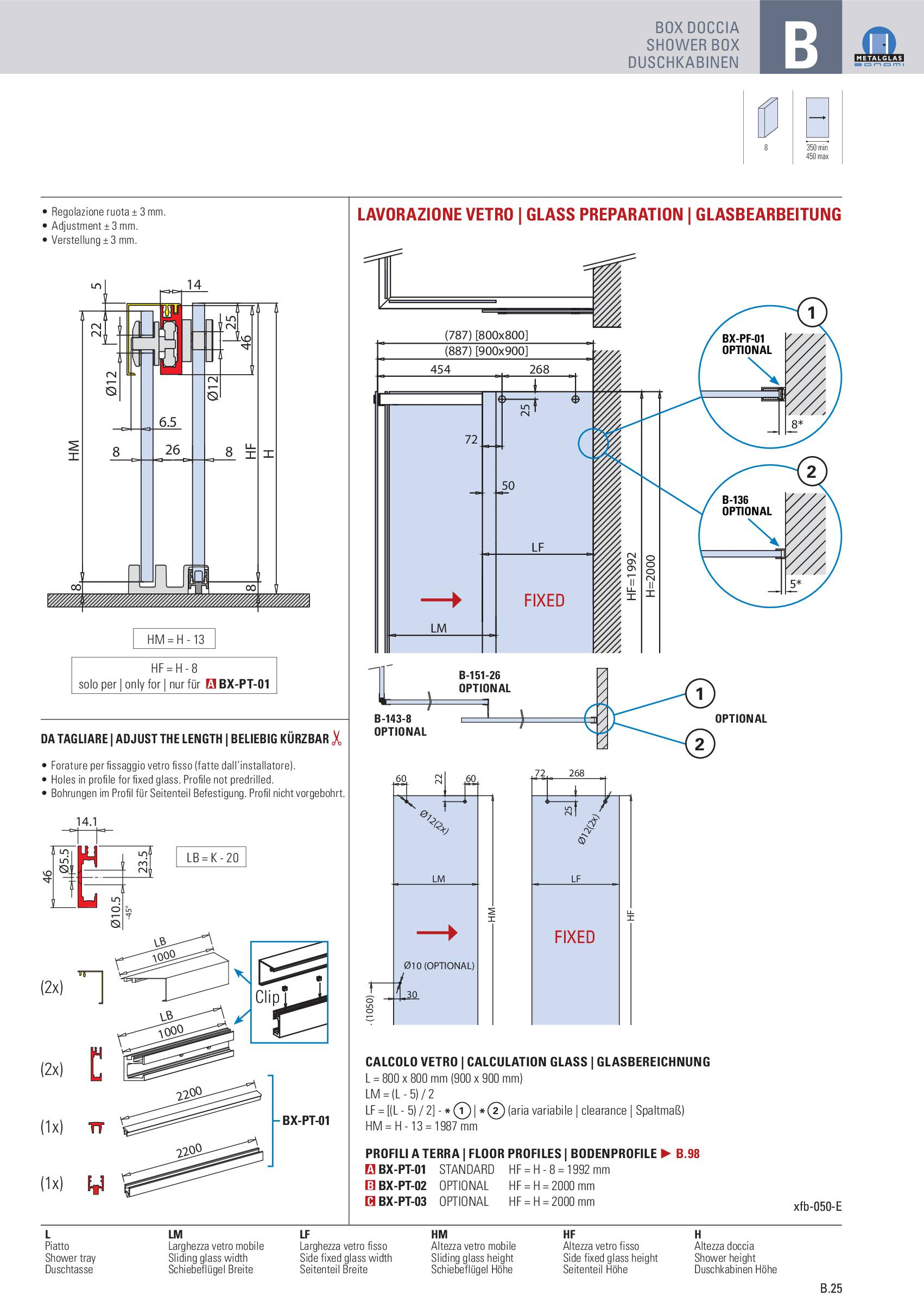 Metalglas – Box Doccia Metalglas catalogo sfogliabile interattivo